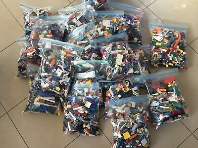 1Kg Lego Creativity Pack, Bulk - Good Mix, Great Condition - Free Shipping!