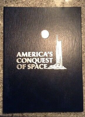 Vintage America's Conquest Of Space Stamp Book -Very Good Condition!