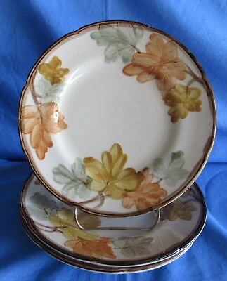 """Franciscan October, Autumn Leaves, 6 Each 8"""" Plates. Beautiful!"""