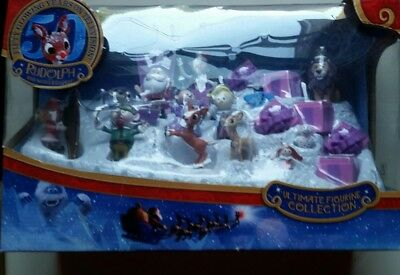 Rudolph The Red Nosed Reindeer Ultimate Figurine (13) Collection Forever Fun