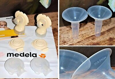 Medela Freestyle Replacement Breast Shield 24 27 30 mm Small Medium Large + Bra