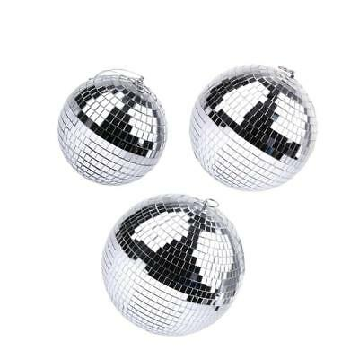 Rotating Reflection Glass Mirror Disco Ball for DJ Home Party Stage Light