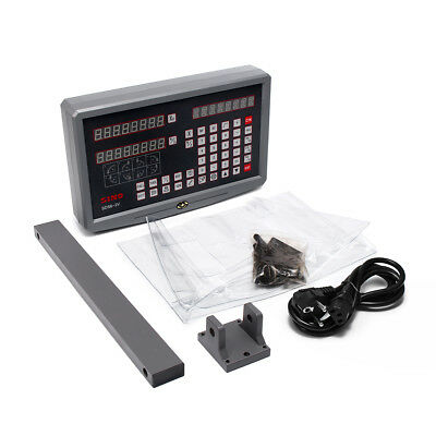 SDS6-2V 2 Axis Digital Readout Display Linear Scales Kits For Milling Lathe Mach