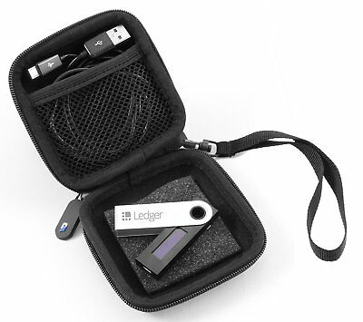 CASEMATIX Case For Cryptocurrency Wallet Fits Ledger Nano S , Satoshi and More