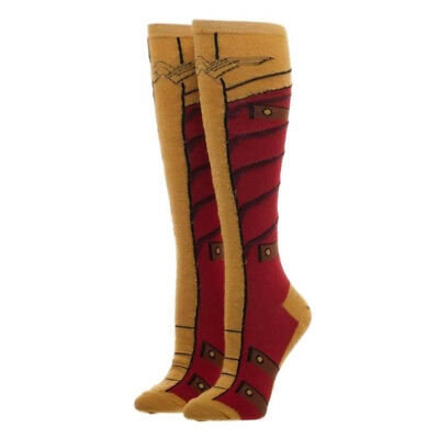 DC Comics Wonder Woman Knit Boot With Go Socks NEW