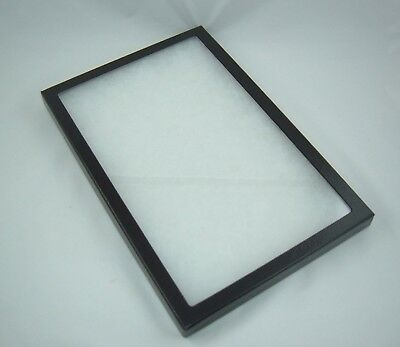 ONE jewelry display cases riker mount display shadow box collection 8 X12 X 2""