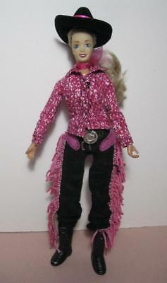 """BREYER Jointed/8.5"""" Doll/pink clothes 4 toy horse pony CLASSICS JUMPER RIDER exc"""