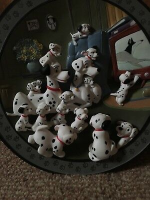 Disney 101 Dalmations 3d plate Watch Out Thunder Limited Edition #2903/15,000