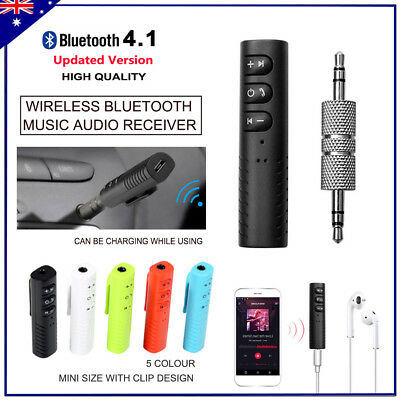 3.5mm Wireless Bluetooth Car Kit Handsfree Music Audio Receiver to AUX Car