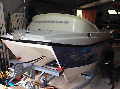 MATTCAT 4.0m fiberglass twin hull catamaran boat - 2013 model