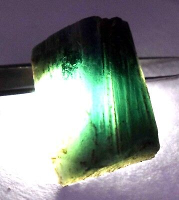 45    Ct Nice Natural Translucent Green Serpentine Earth Mined Slab Rough