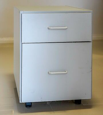 Office drawer unit on castors - 1 drawer for hanging files