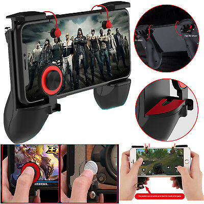 3 in 1 PUBG Mobile Handle + L1R1 Game Trigger + Fire Button Shooter Controller