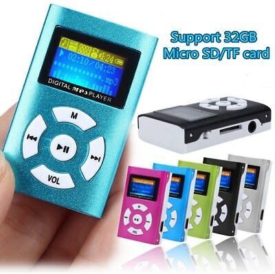 Portable USB Digital MP3 Music Player LCD Screen Support 32GB TF Card SW1 lot
