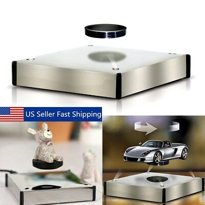 360° Rotating Magnetic Stand Levitation Floating Show Shelf Display Plateform