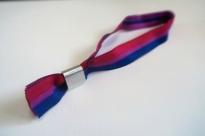Bi Sexuell Sexual Festivalband Armband Stoffband Pride CSD Bisexuell Flagge