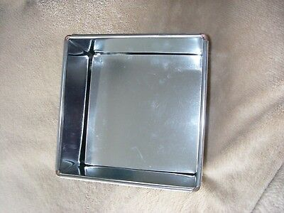 8 inch Square Cake Baking Pan Tin Birthday anniversary Wedding cakes Loose Base