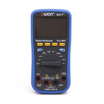 OWON B41T+ 4 1/2Auto-scale True RMS Digital Auto Multimeter Meter with Bluetooth
