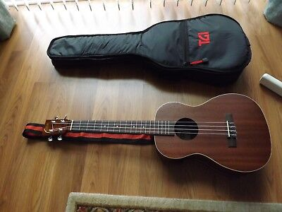 KALA Tenor Ukulele KA-BE with Chromatic Tuner ,Padded Case and Strap.