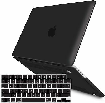"【2018 Macbook Pro 13""A1989】Soft Rubberized Case with KB Cover Screen Protector"