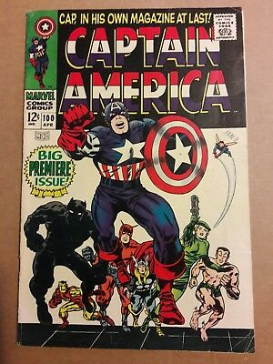 Captain America  #100   KEY ISSUE  !!