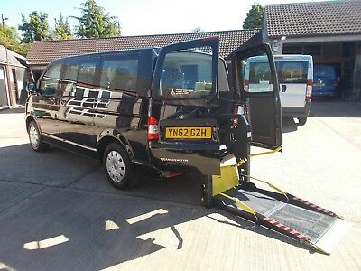 Wheelchair Accessible Wav Disabled 2012  Volkswagon Transporter Driver Transfer