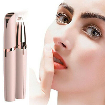 Facial Finishing Hair Remover Women Touch Flawless Painless Lipstick Design