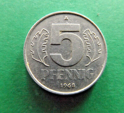Germany 1968 A 5 Pfennig