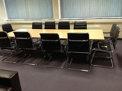 boardroom / meeting room table, chairs and sofs's