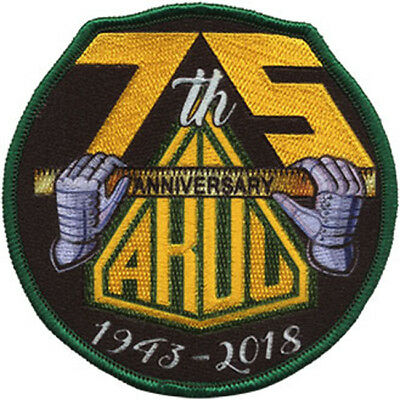 ARDU 75th Anniversary 1943 - 2018 RAAF Australia Embroidered Patch