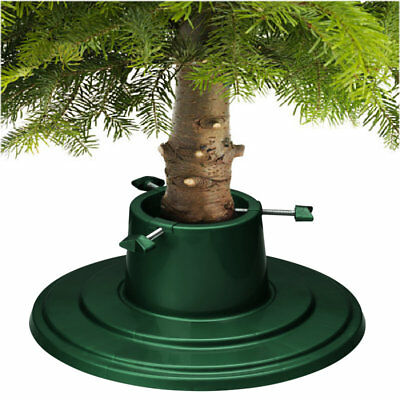 Christmas Tree Stand Green Holly Round Water Holding 6ft (1.8m) Real Xmas Trees