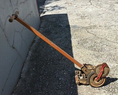 Vintage Antique American Lawn Mower Co Push Edger Lawnmower SA Special Local PU