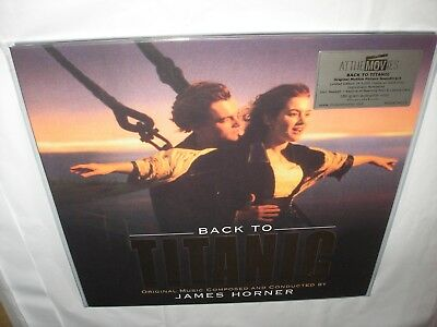 Back to Titanic Soundtrack 2 LP GOLD Color Vinyl 20th MOV Ltd Numberd NEW SEALED