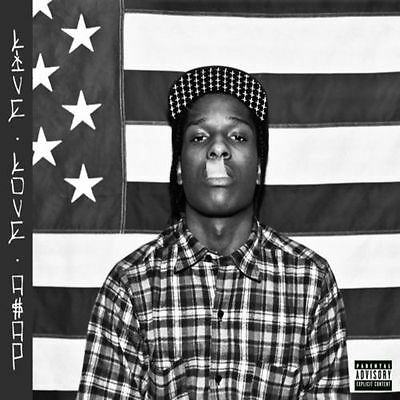 "ASAP ROCKY- "" Live Love A$AP""  (OFFICIAL MIXTAPE).. MIX CD...SUPER HOT!!!"
