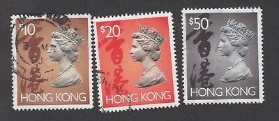 Hong Kong 1992 Qeii Selection Of Used Stamps (Jd6148)