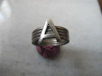 Antique Medieval Silver Seal Ring