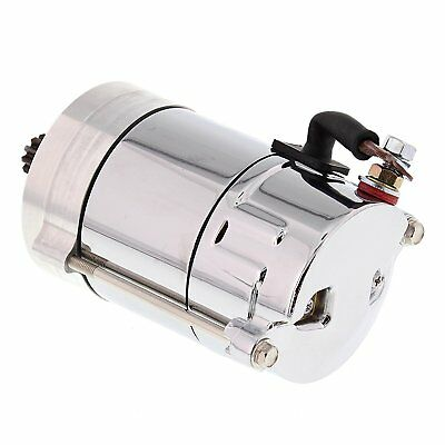 New Big Twin Starter - 1.4kw - Chrome for Harley XLH 1000 79 80