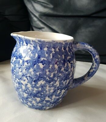 Next Interior Preowned Blue And White Jug Hand Painted