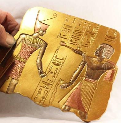 Pre-Dynastic Egyptian Tomb Relief ancient replica