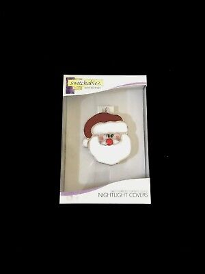 RETIRED Switchables Red Jeweled Santa Face Nightlight Cover