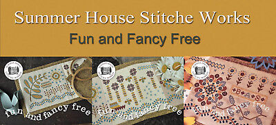 Fun and Fancy Free Series Summer House Stitche Workes Cross Stitch Pattern