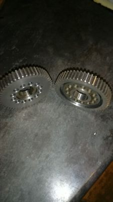 Triumph twin cylinder vernier camshaft timming gears