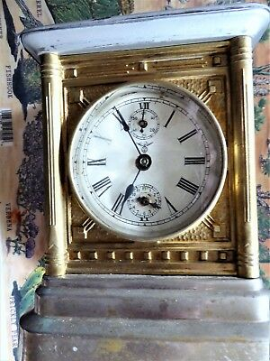 Antique Germany  Musical Carriage Clock