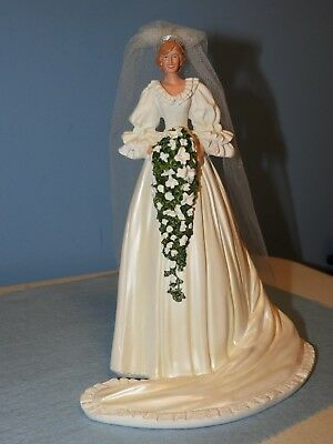 """Princess Diana In Wedding Gown  """"Princess Of Our Hearts Collection"""" Hamilton"""