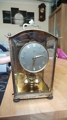 Aug Schatz & Sohne German Mantel Clock 400 Day Spare Or Repair