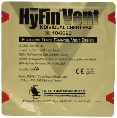 HyFin Vent Chest Seal by North American Rescue