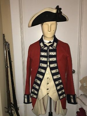 Revolutionary War British 7th Regiment Uniform Reenactor