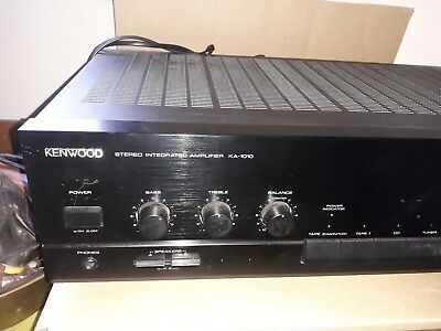 KENWOOD KA-1010 Stereo Integrated Amplifier Phono Stage