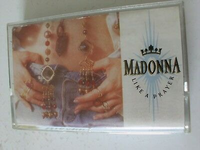 Madonna Like a Prayer MC Cassette (Canada)