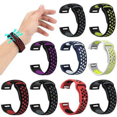 Sports Silicone Bracelet Strap Replacement Spare Watch Band For Fitbit Charge 2